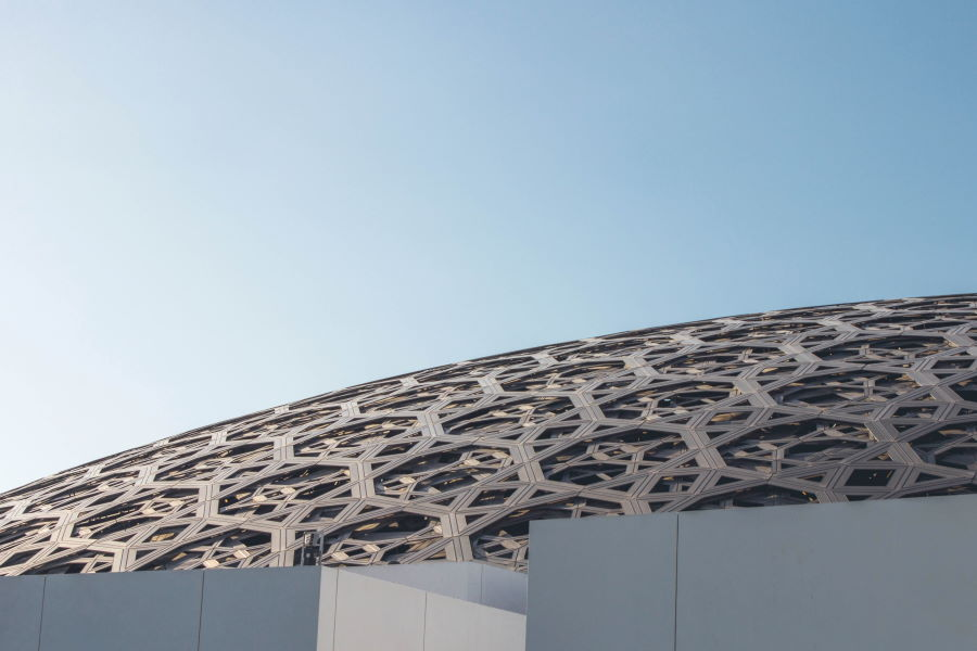 Le musée du Louvre d'Abu Dhabi