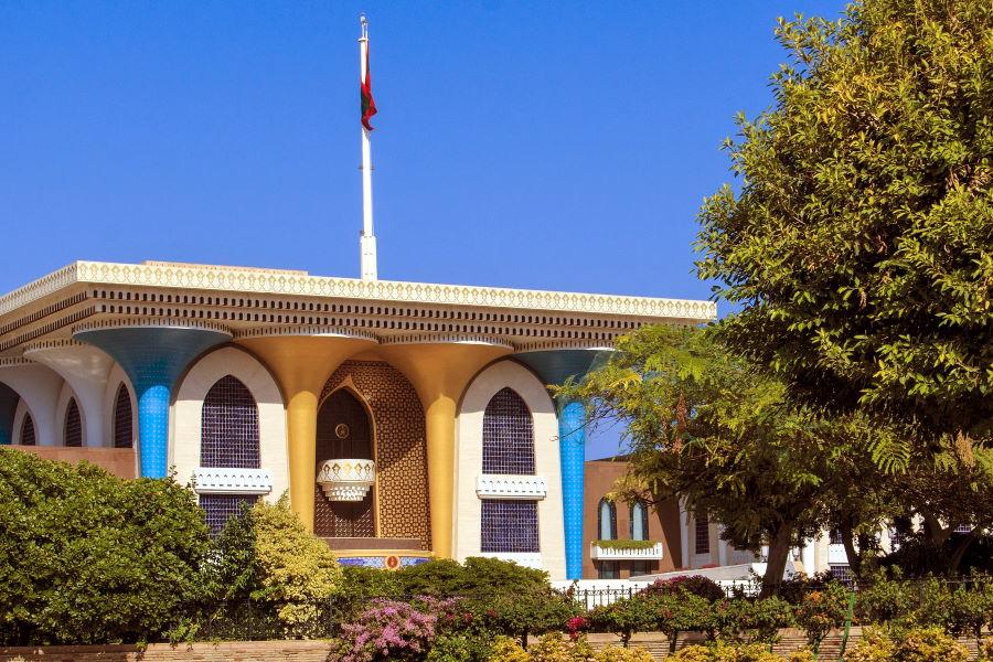 Le palais royal d'Oman