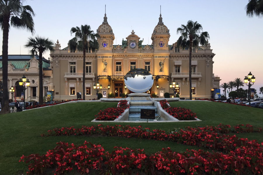 La place du Casino de Monte-Carlo