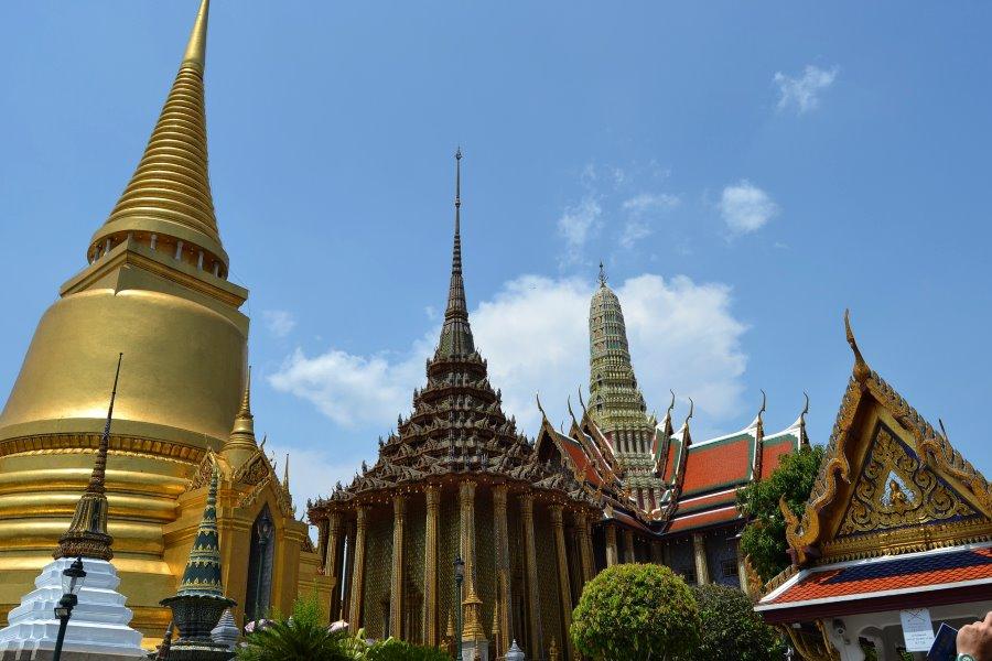 Palais royal de Thaïlande