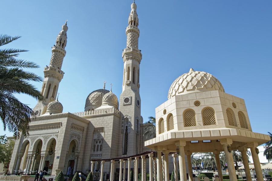 La mosquée de Jumeirah à Dubaï